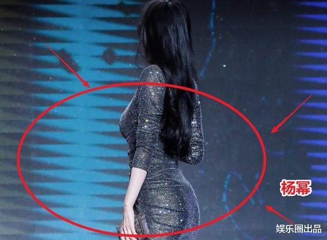 楊冪拍片生圖曝光, 誰留意到她的腰臀比, 身材有沒有造假一目瞭然-圖2