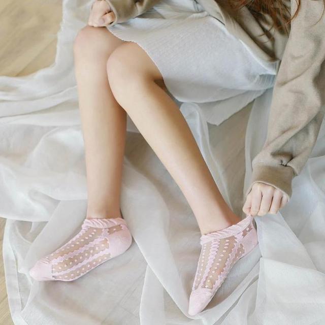 日系玻璃丝袜短袜 你穿了吗 1