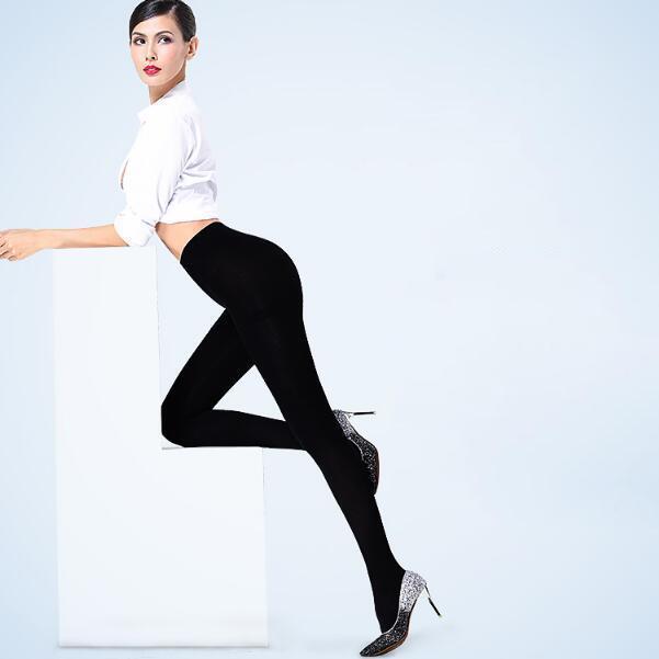 男人都喜欢女人穿这样的打底裤, 显瘦不止一点点 2