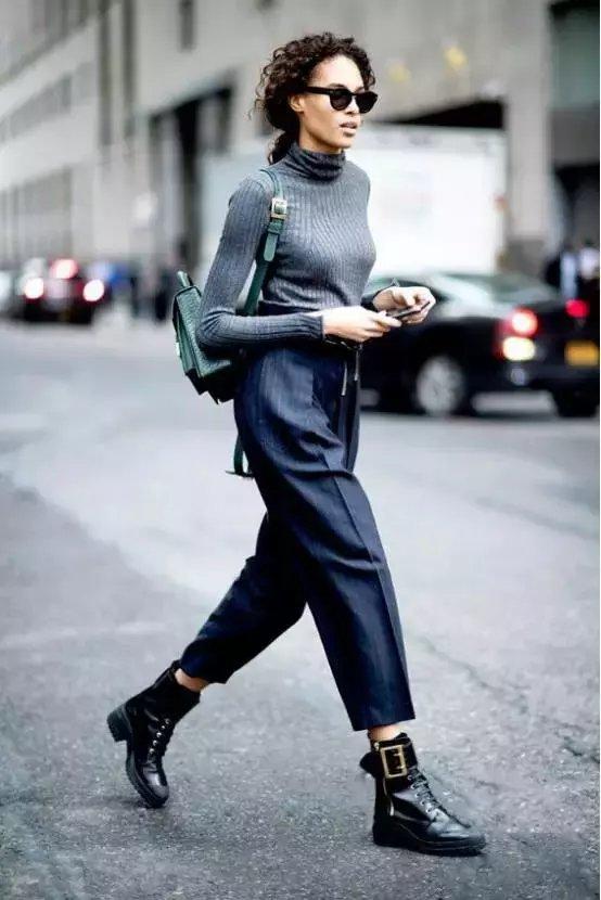 今年秋冬流行不露腿! 有这3条裤子才时髦! 26
