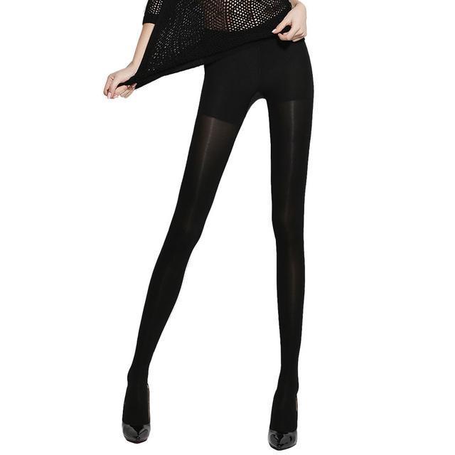 男人都喜欢女人穿这样的打底裤, 显瘦不止一点点 13