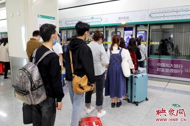 壓縮間隔短時加開 鄭州地鐵10月23日起運力進一步提升-圖2