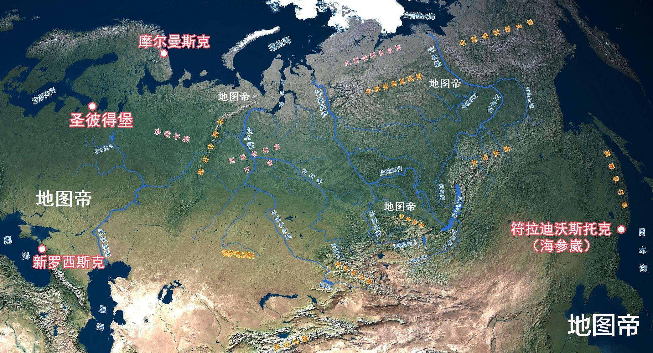 美國東西平衡發展, 俄羅斯為何不搞東部大開發?-圖4