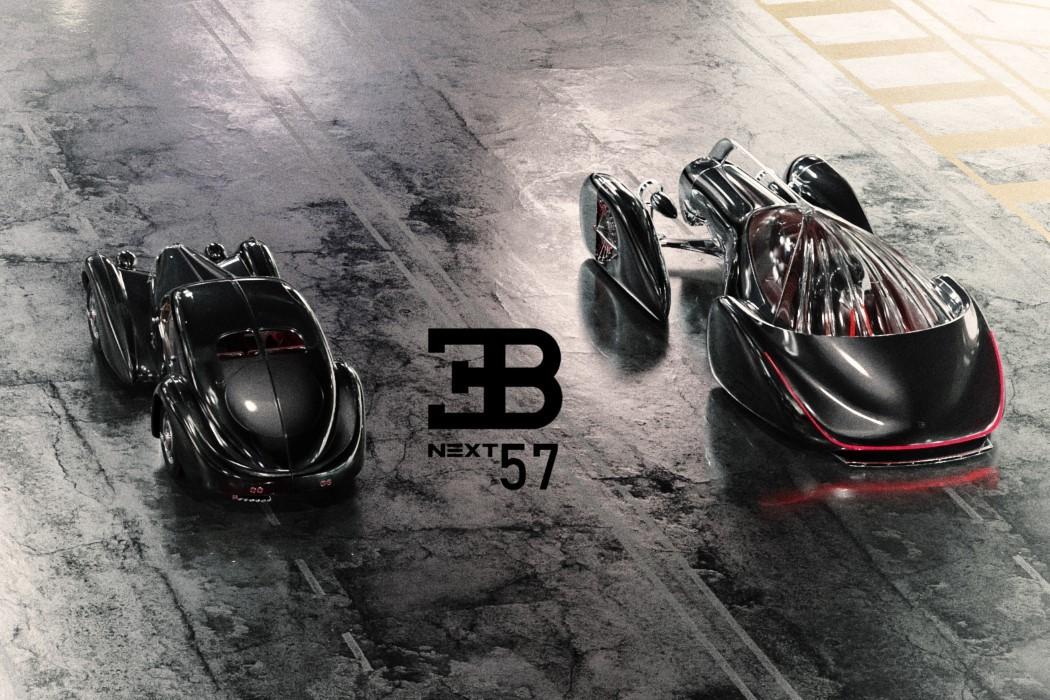 佈加迪發佈Next-57概念轎車, 采用純電驅動, 外形蒸汽朋克范!-圖1