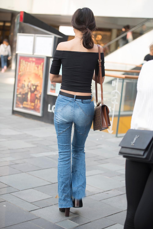 牛仔紧身裤, 穿出女神飞一般的气质 5
