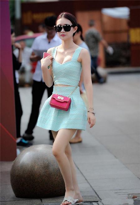 为什么这么多会穿扮的夏日女神?