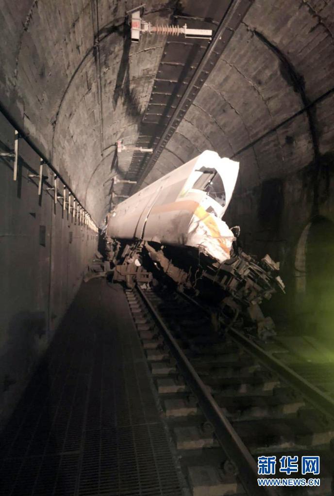 臺灣發生火車出軌事故 已致4死至少36人失去生命跡象-圖3