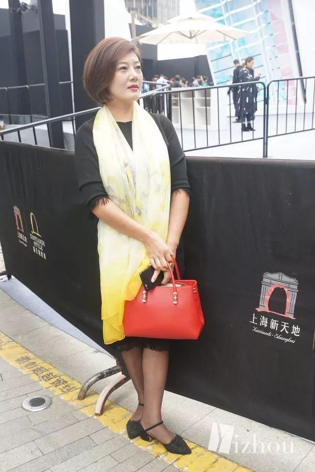 上海时装周的街拍又来刷新三观了 3