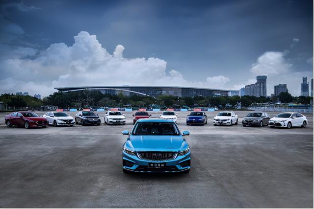中國傢轎最強爆款, 吉利星瑞銷量再創新高, 成朗逸、卡羅拉等合資勁敵-圖10