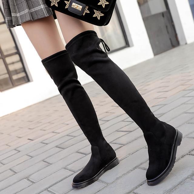 今年流行的这6双长靴穿出高挑细腿长, 女神修腿利器 3