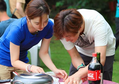 韩星女星蔡琳怀孕, 称做中国媳妇很轻松幸福