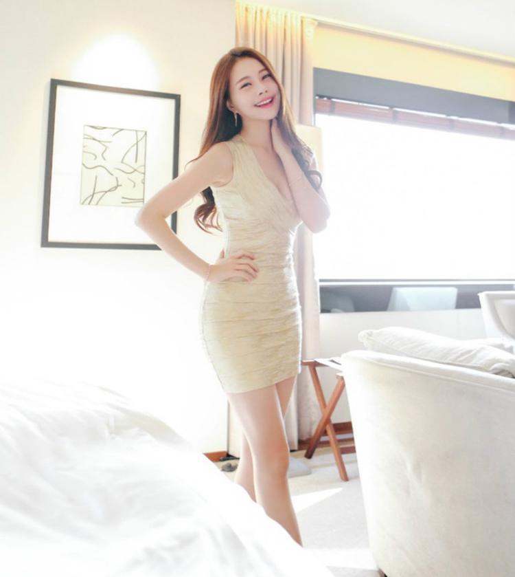 紧身裙秀出女人身材好, 穿出不一样的风情 5