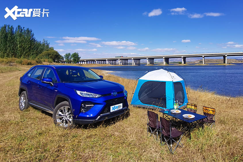 開車去釣魚和露營 威蘭達雙擎用車體驗-圖12