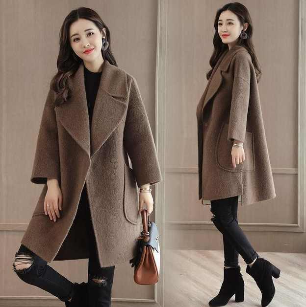让你显高显瘦, 就多买几款精致呢大衣, 可以洋气一冬天! 3