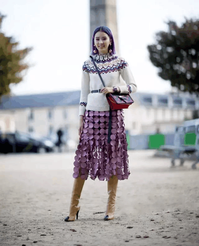 毛衣, 秋冬这样穿又美又温暖 15
